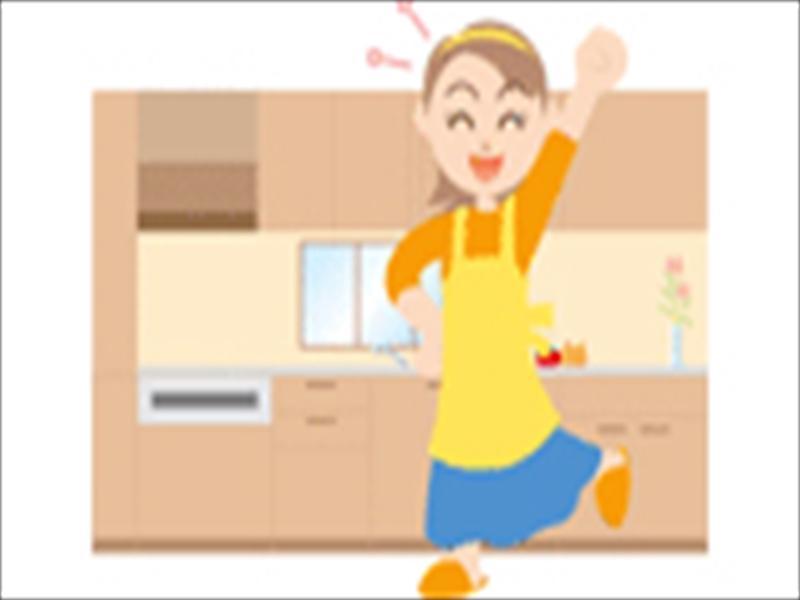 キッチンを広々使いやすく!