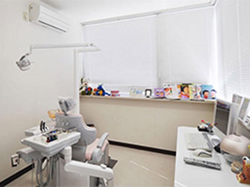 子ども専用診察室(個室)