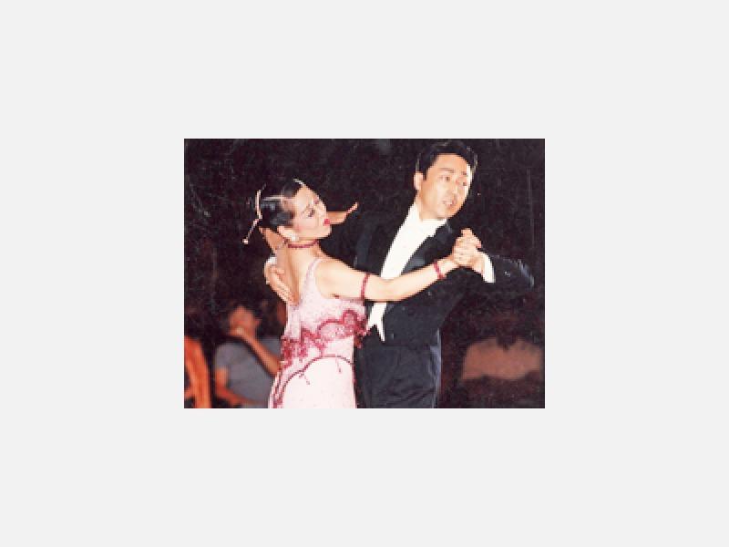 上級社交ダンスコンテスト