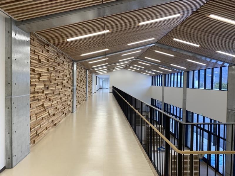 構造設計建物内部の様子