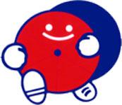 赤帽福岡県軽自動車運送協同組合総合配車センターロゴ
