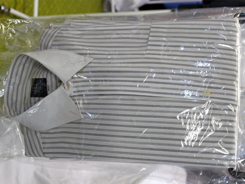 ワイシャツ完成品:旅行にも便利なハーフスタイル