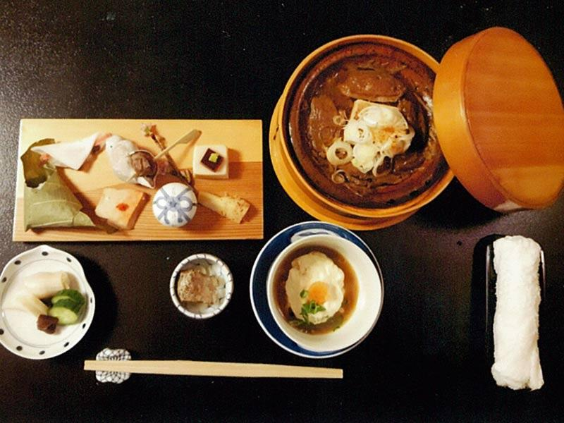 夜の御料理 5,000円(一例)