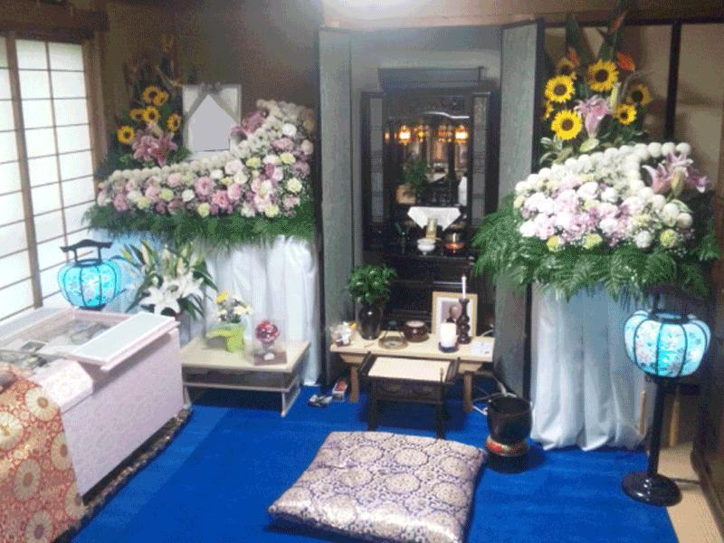 ご自宅や寺院でのご葬儀も承ります