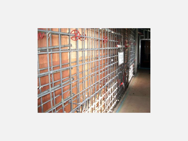 コンクリート増壁による耐震補強工事も承ります