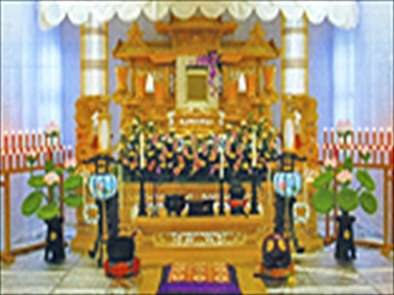 ◆自宅葬祭壇(3段)