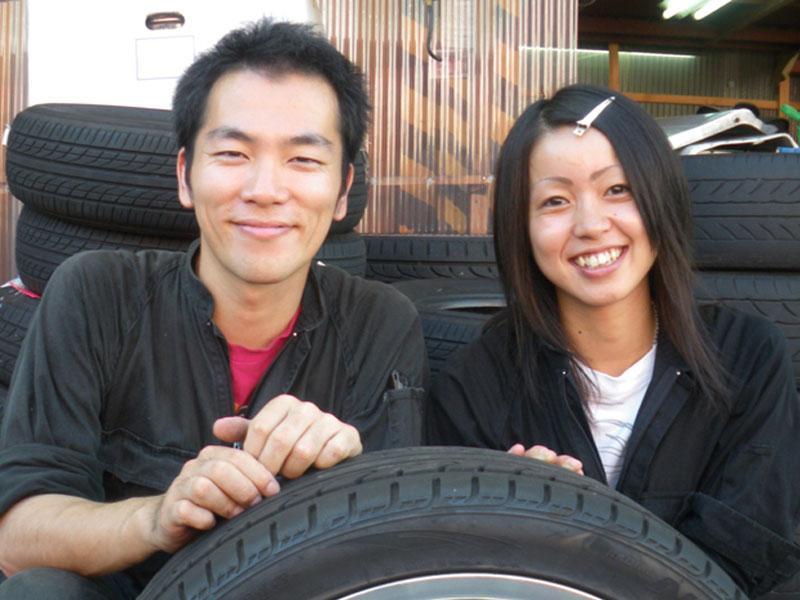 タイヤ・ホイールの高価買取に自信があります!