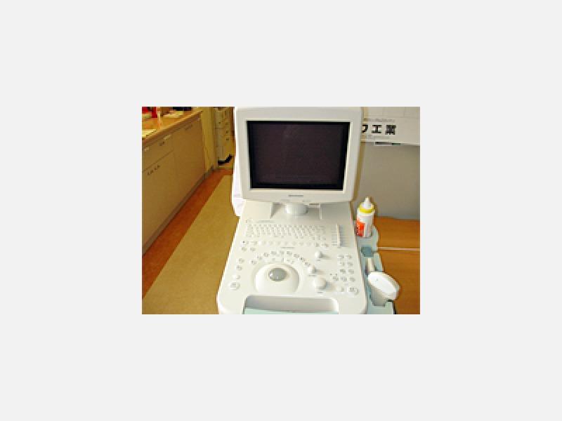 ◆超音波診断装置(島津製作所製)