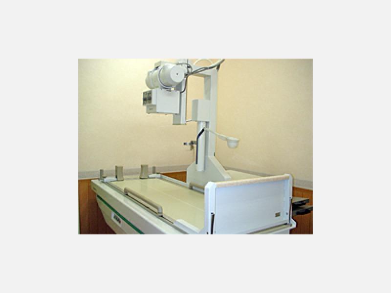 ◆X線一般撮影と透視装置(島津製作所製)