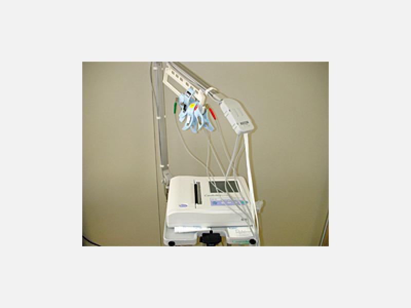 ◆血圧脈波検査装置(フクダ電子製)