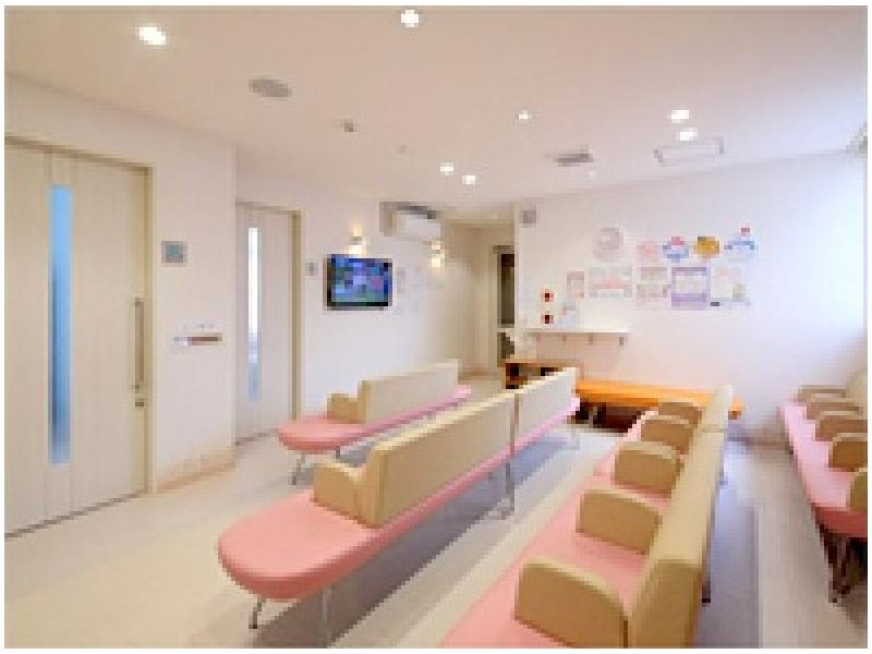 3F:健診・予防接種待合室(フロア・時間帯が別です)