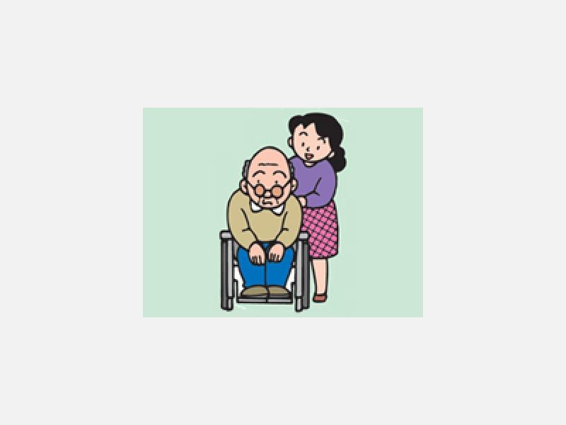 介護保険により介護支援・在宅介護