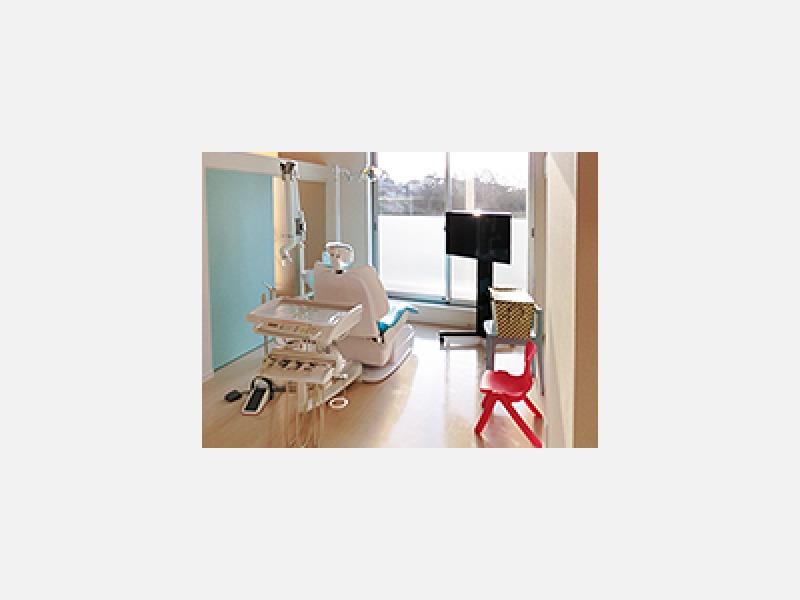 半個室形式の診療室