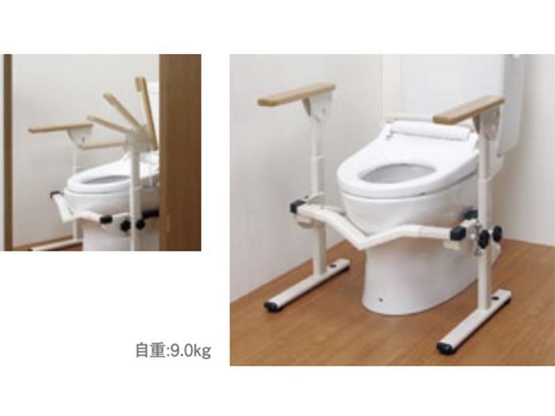 手すり(洋式トイレ用フレーム)