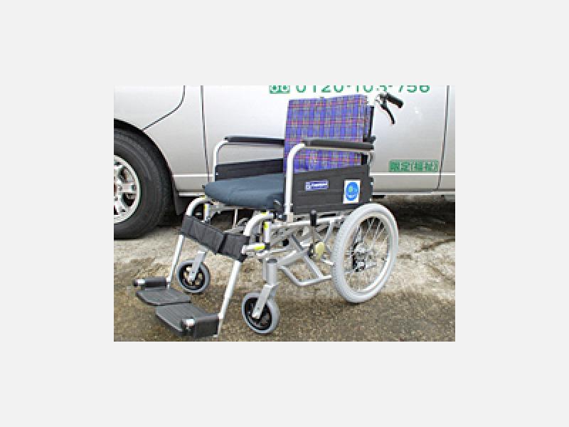 ◆車いす 乗り降りしやすくなってます。