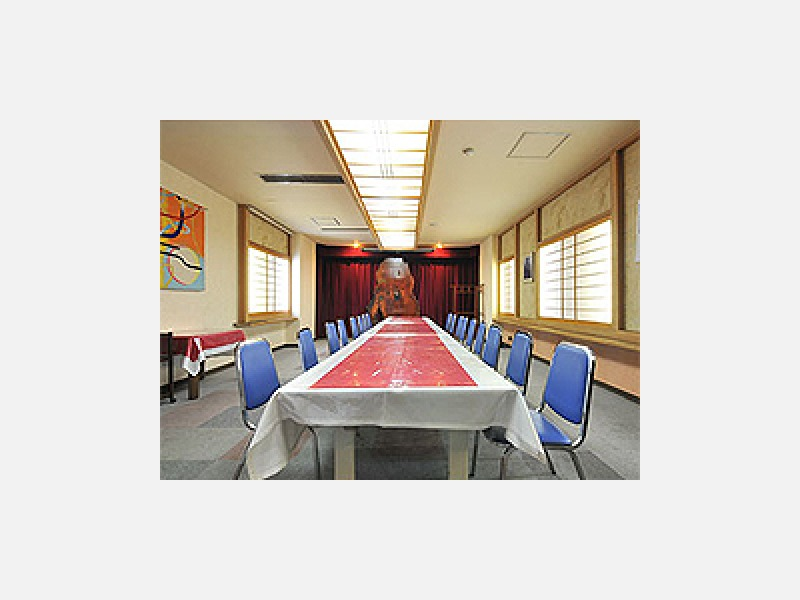 会議場は20名様まで利用可能。