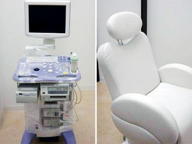 妊健室(4D超音波・電動ベッド)