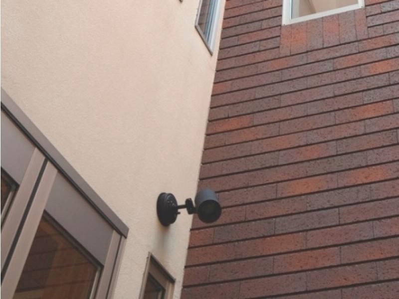 アンテナ、照明、監視カメラなど電気器具設置