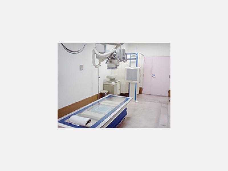 X線撮影室など、さまざまな設備を整えております