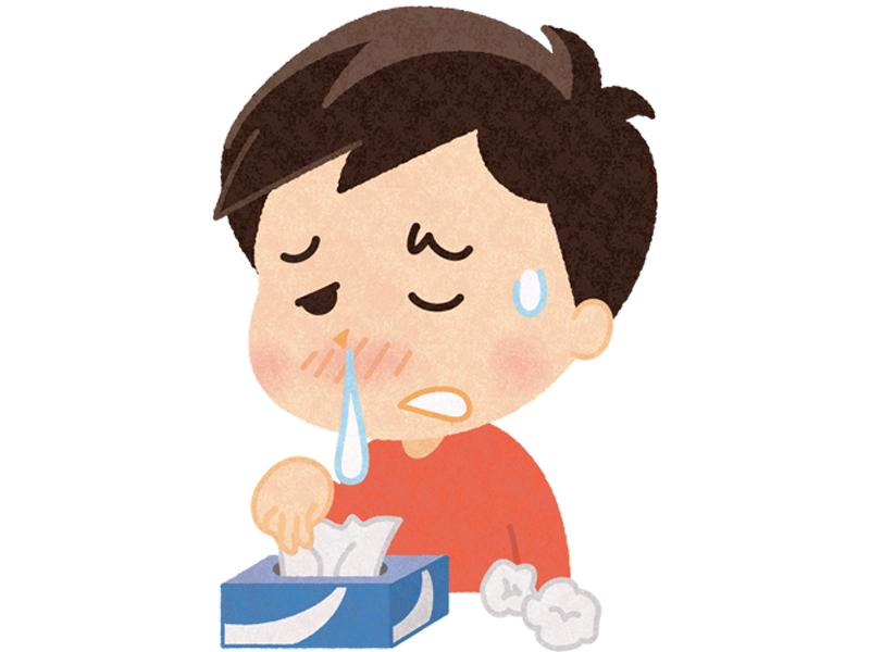 つらいアレルギー症状