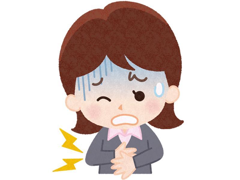 吐き気・お腹の痛み