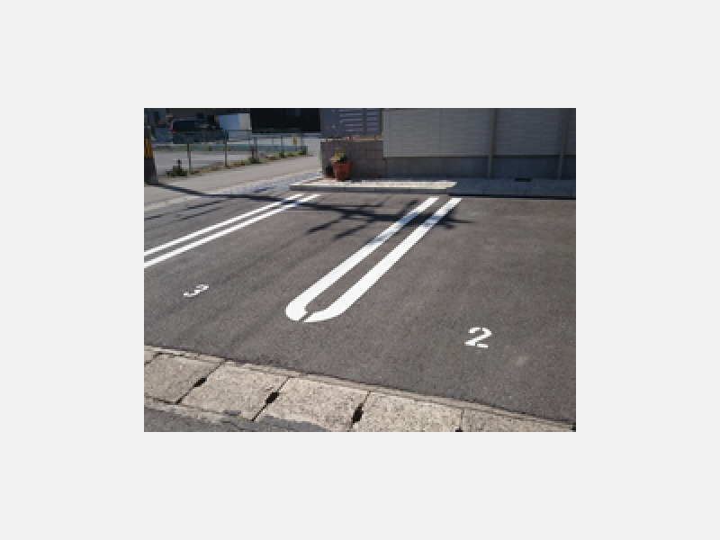当店の駐車場です