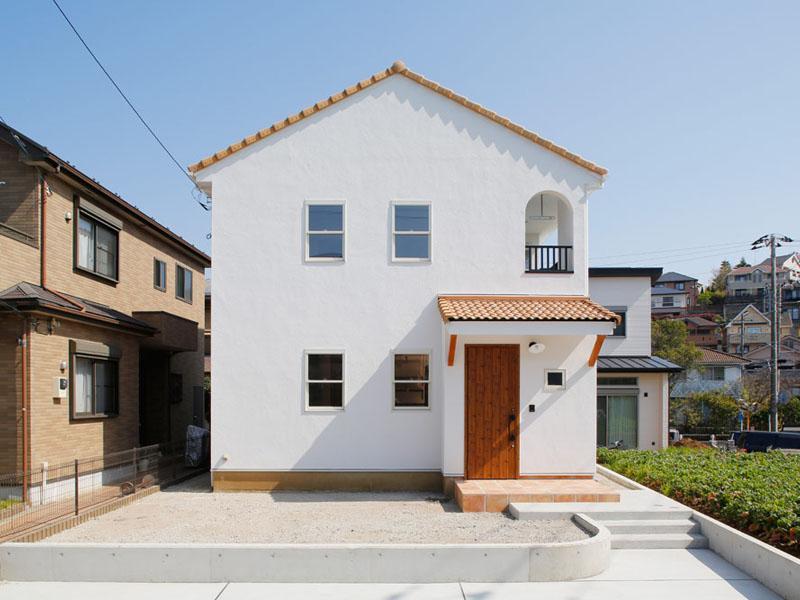 横須賀市、輸入住宅テイストの注文住宅