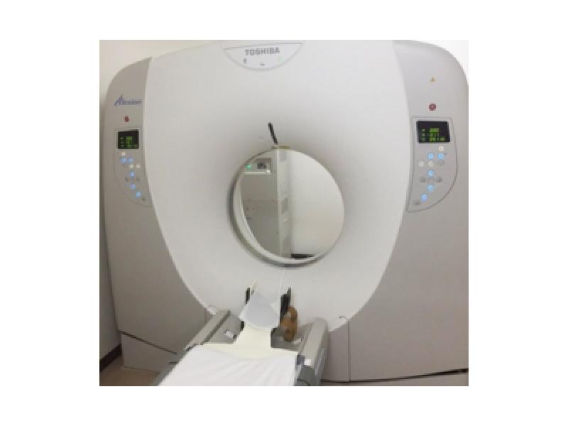 CT装置による検査5分から10分です