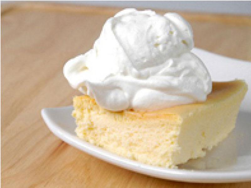とろける生チーズケーキ