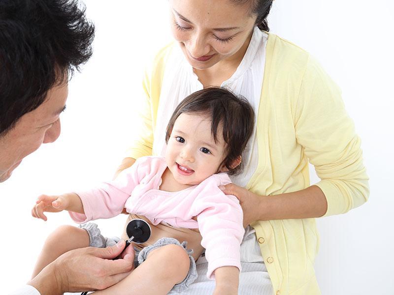 乳児健診・予防接種・育児相談を行っております。