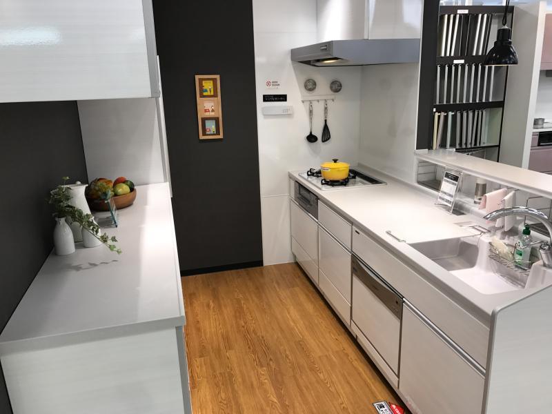 リフォーム/オープンキッチン・腰壁