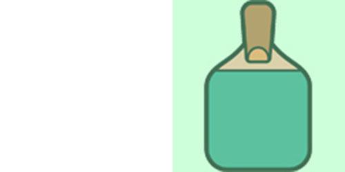 福岡卓球センターロゴ