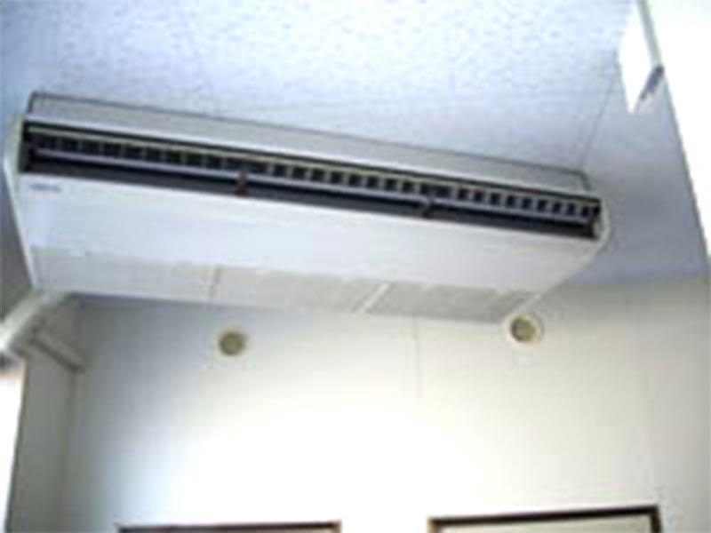 空調設備・換気設備を完備で快適
