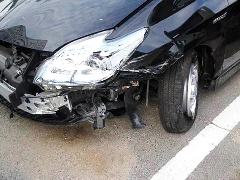 ぶつけてしまったり事故に遭ってしまったときは当店へ