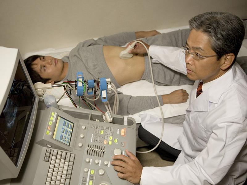 胃カメラ、大腸カメラ、腹部エコーを導入しています。