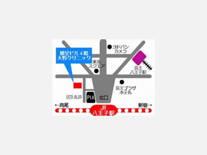 JR八王子駅北口30秒