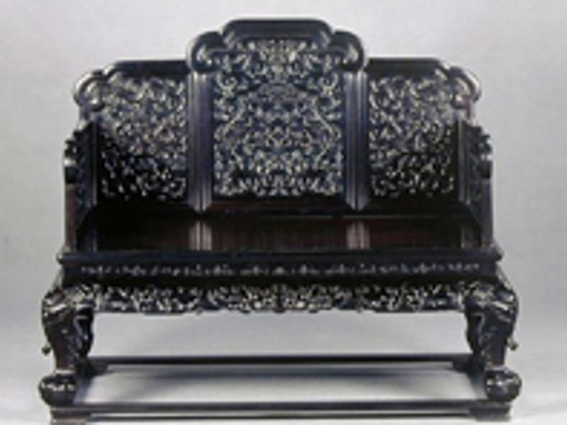 ◆紫檀家具、紫檀飾り棚など