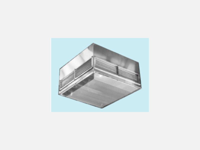 フィルターを内蔵できるステンレス製給・排気口