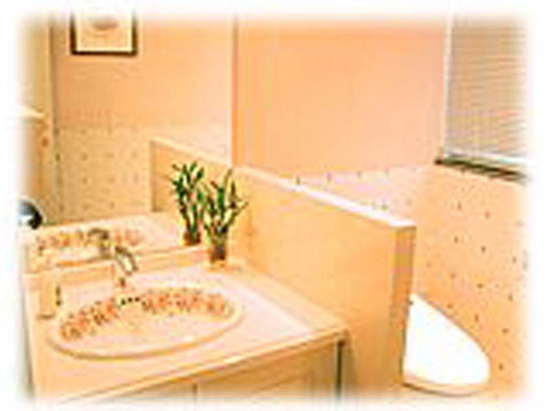 トイレ 蓋の開閉、洗浄自動で清潔なトイレです