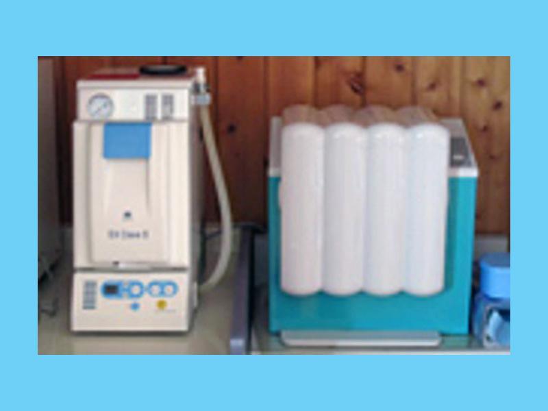 高圧滅菌器・高速洗浄機