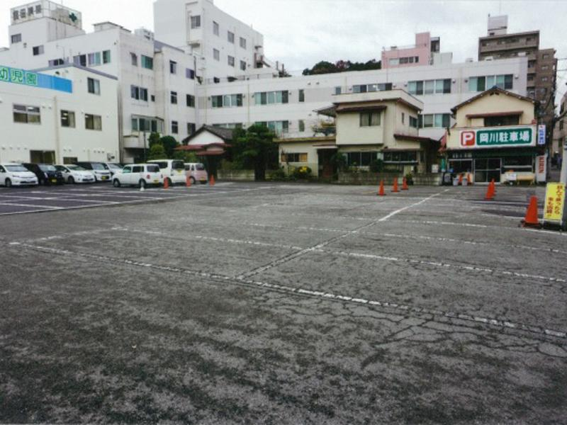 100台収容契約大駐車場有