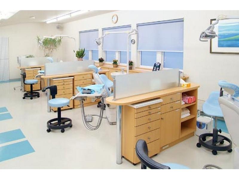 プライバシーにも配慮した診療室