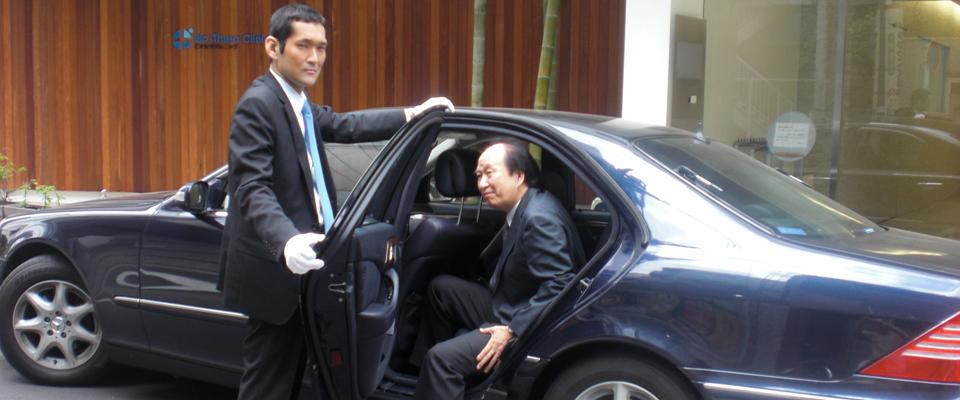 渋谷区 西新宿 ドライバー派遣 役員付き運転手