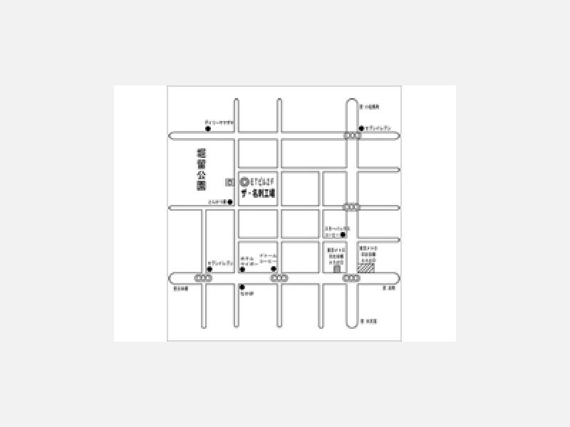 東京都中央区日本橋/ザ・名刺工場◆名刺裏面地図作成見本