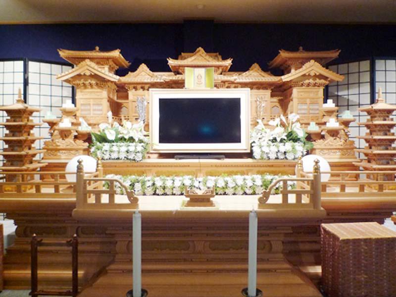 12尺白木祭壇プラン