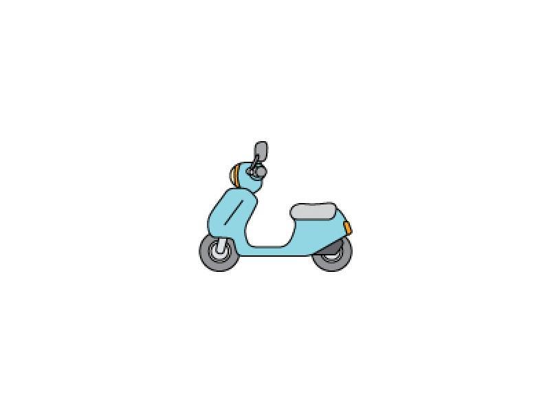 原付バイク・パンクも修理OK!