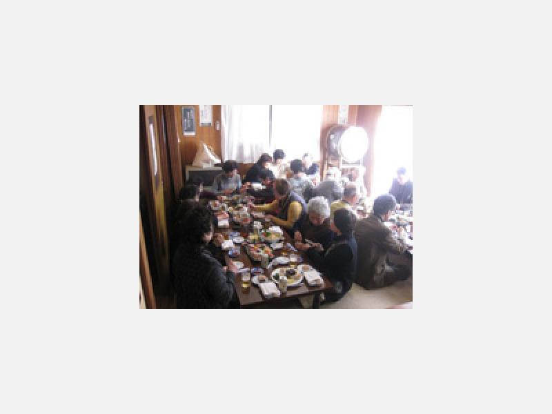 ■皆様との会食