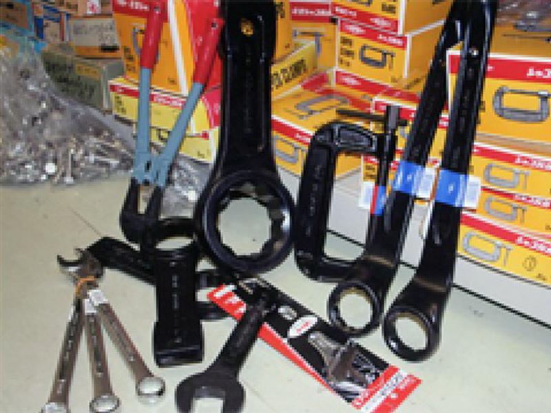 ▲作業工具