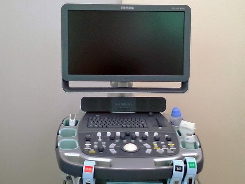 心エコー検査、腹部エコー検査、頸動脈エコー検査
