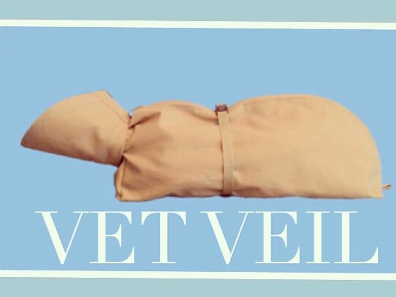 大切なペット達を保定する「VET VEIL」